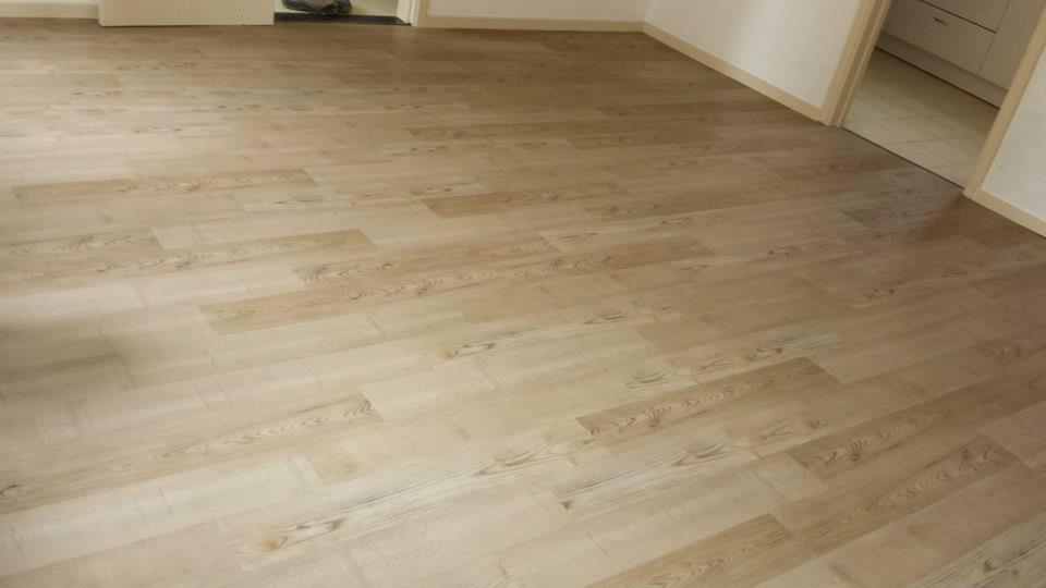 Vloer bekleding de contesse exell vinyl vloer schilderwerken